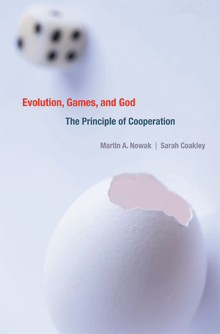 Evolution, games, and God Book Cover harvard